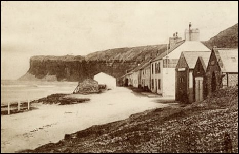Old Saltburn, the Mortuary, Lifeboat House and Rocket Brigade HQ
