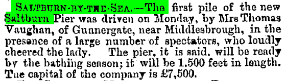 Newcastle Courant Friday 3rd January 1868