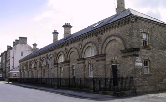 Original stable block of the Zetland Hotel, now converted to housing accommodation