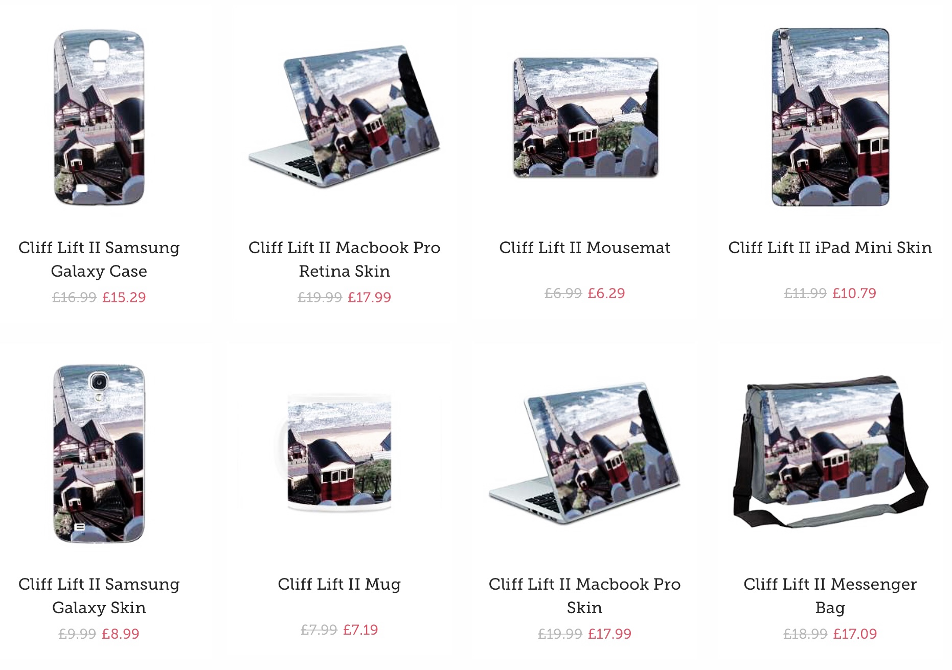 Cliff Lift Merchandise